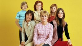 The Partridge Family (ABC) later seasons (1971 - 1974) Shown from left: (top) Brian Forster, Danny Bonaduce, Suzanne Crough; (front) David Cassidy, Shirley Jones, Susan Dey