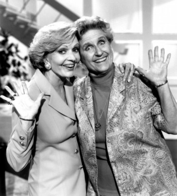 Florence Henderson, left, and Ann B. Davis 1993 (Los Angeles Daily News file photo)