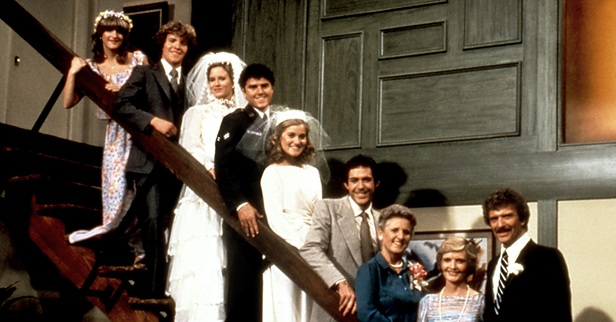 THE BRADY BRIDES, Susan Olsen, Mike Lookinland, Eve Plumb, Christopher Knight, Maureen McCormick, Ba