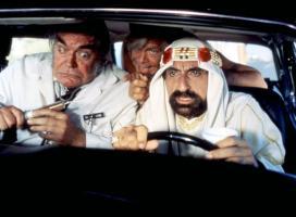 CANNONBALL RUN II, Jack Elam, (l.), Jamie Farr (r.), 1984, (c)Warner Bros.