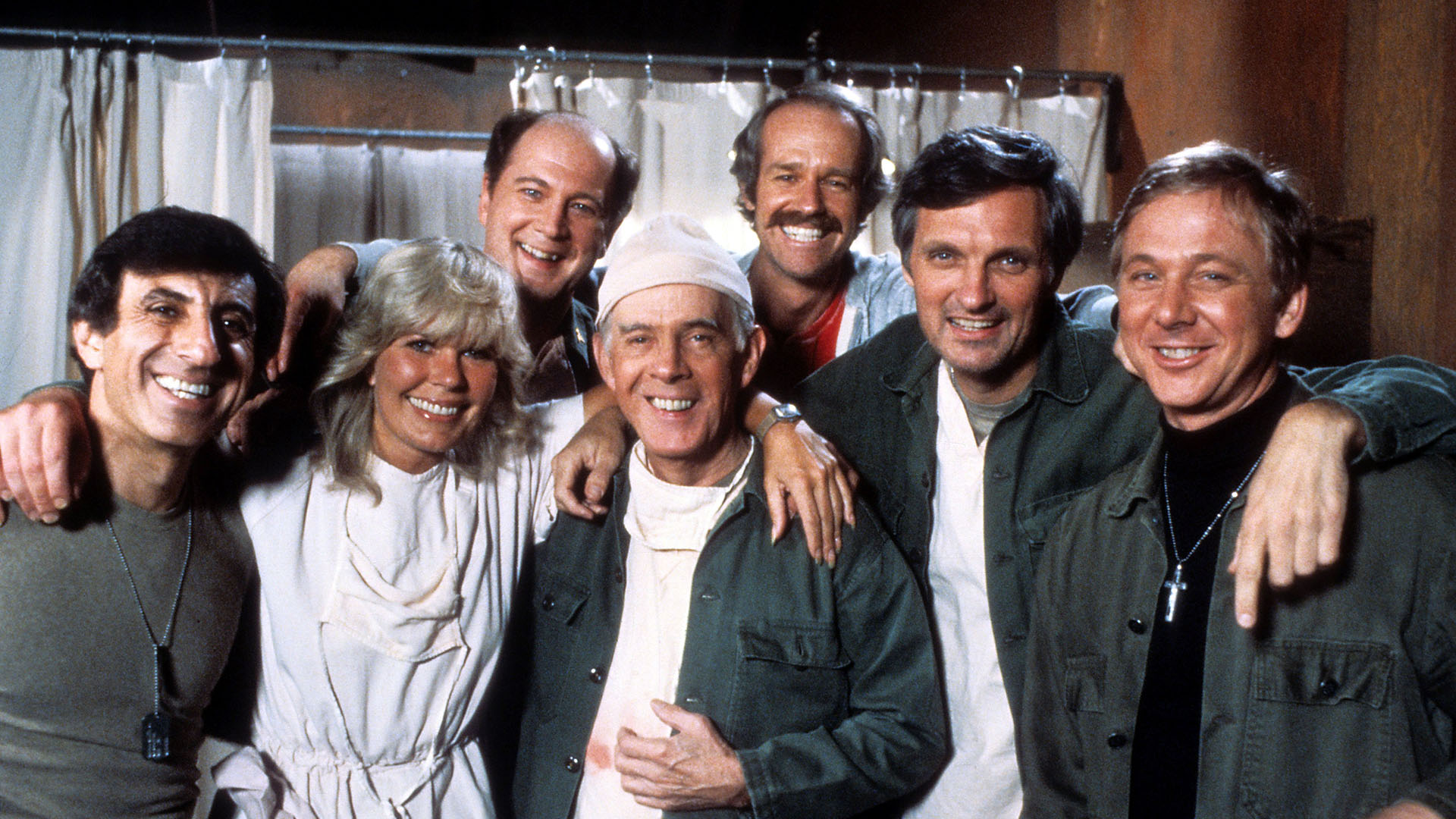 Image: Loretta Swit And Alan Alda William Christopher In 'M*A*S*H'