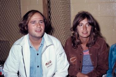 Rob Reiner and Penny Marshall circa 1970s © 1978 Gary Lewis