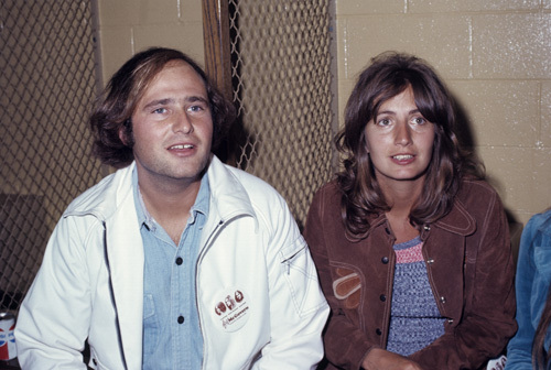 Rob Reiner and Penny Marshall circa 1970s © 1978 Gary Lewis